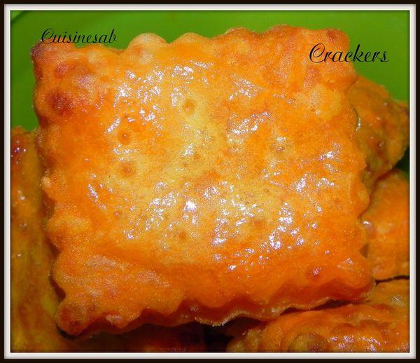 Crackers à  la tomate