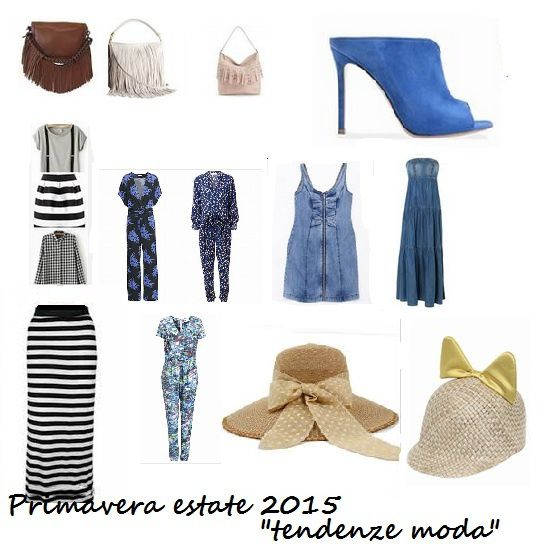 Tendenze moda 2015 primavera estate