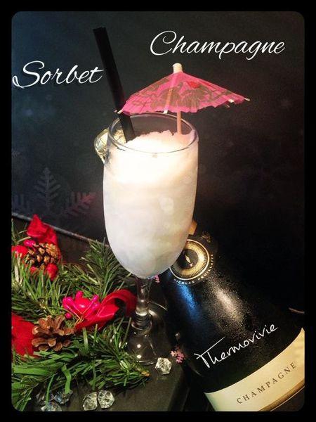Sorbet champagne