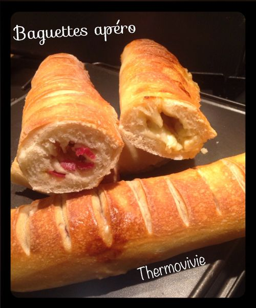 Baguettes apéro