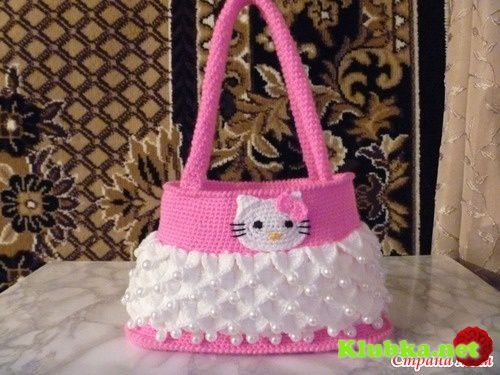 Sac Hello Kitty , pas à  pas en images !