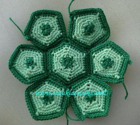 Tortues au crochet , pas à pas en images !
