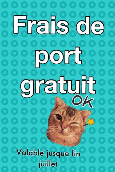 FRAIS DE PORT GRATUIT!!!!!