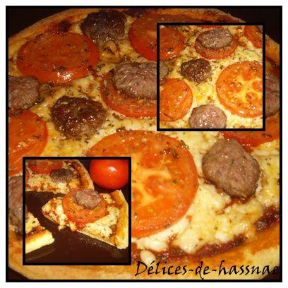 Pizza cheese burger:بيتزا تشيز برغر