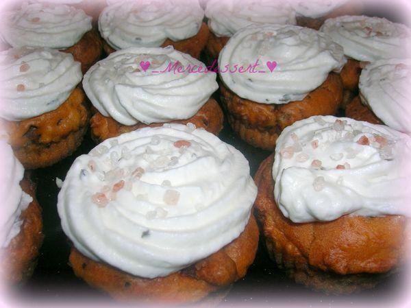 Cupcakes salés tomates séchées et chèvre