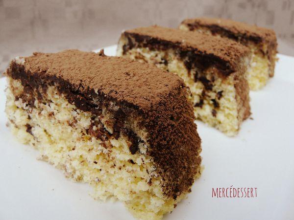 White cake noix de coco et pépites de chocolat