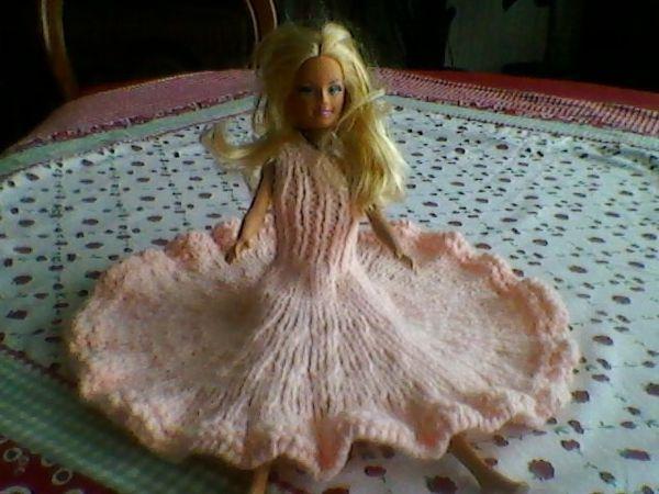 DIY robe de bal pour poupée barbie