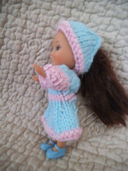 gratuit: tuto pour une mini poupée&#x3B; robe et fichu