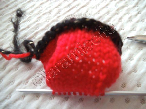 tuto gratuit mini poupée : mini chaperon rouge