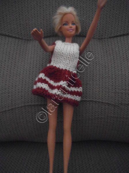 tuto gratuit barbie &#x3B; modèles faciles pour tricoteuses débutantes