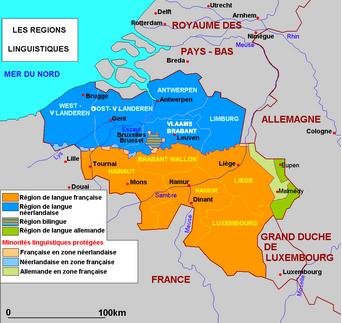 Il y a 50 ans naissait la frontière linguistique en Belgique