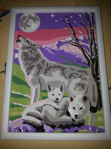 maman loup et ses petits
