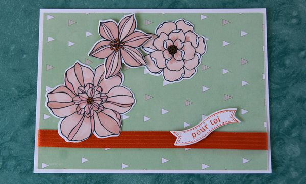 BLOG HOP nouveau catalogue Stampin'class