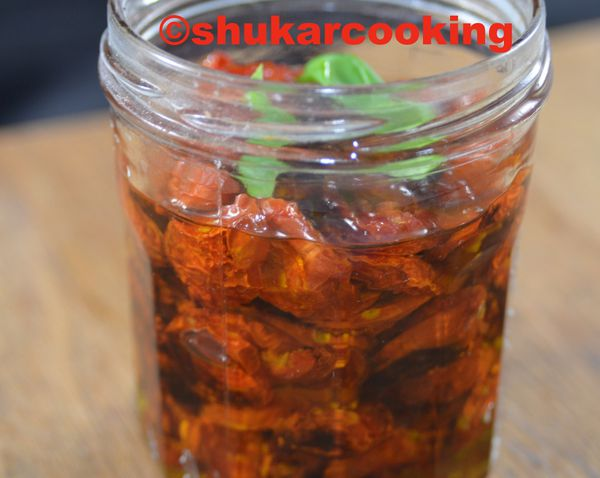 les tomates séchées au micro-ondes de Giroflet