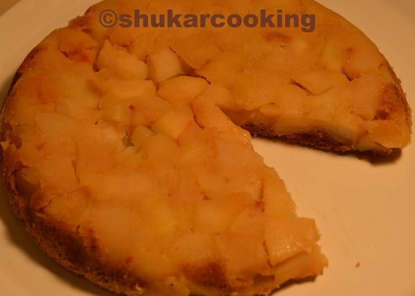 Gâteau pommes spéculoos