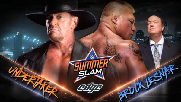 LE Match de l'été 2015: The Undertaker vs Brock Lesnar