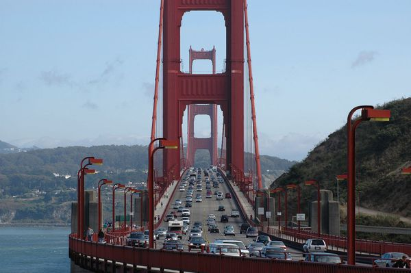 Le Golden Gate Bridge.