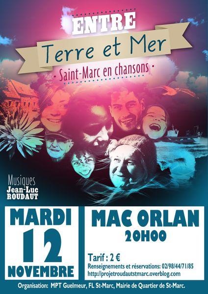 Réservation Concert 12 novembre Mac Orlan
