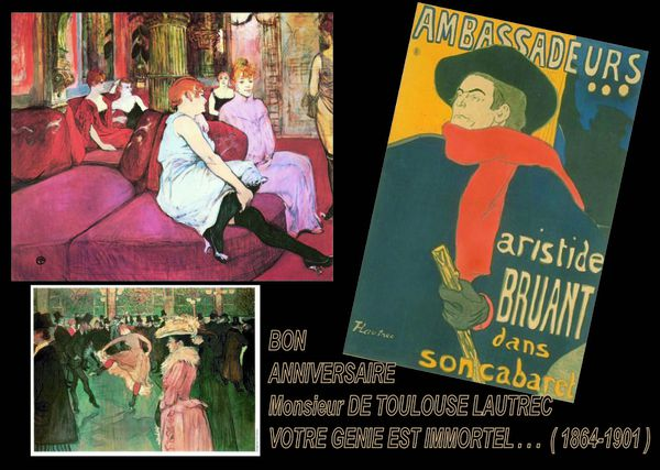 150 Ans de Toulouse-Lautrec