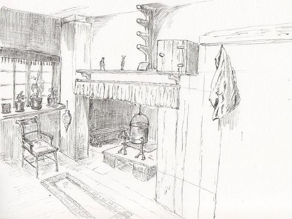 encore un dessin en cours l 39 atelier du renard volant. Black Bedroom Furniture Sets. Home Design Ideas