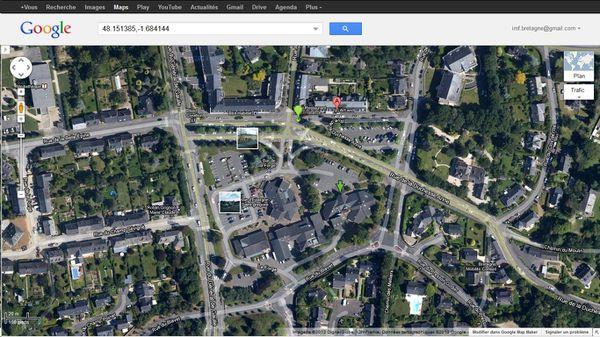 Coordonnées GPS de la Salle de la Forge à Saint-Grégoire
