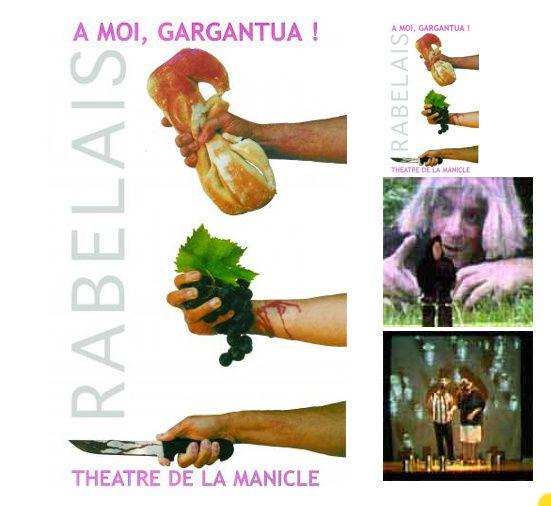 &quot&#x3B;À moi, Gargantua&quot&#x3B; au Théâtre de la Manicle, Le Havre