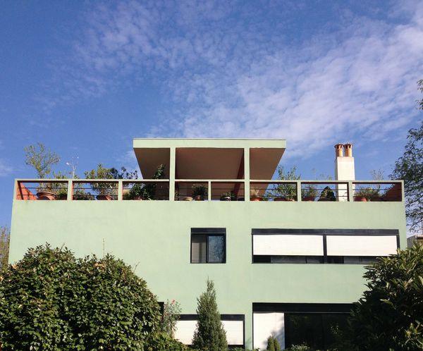 Visite de la cité Frugès de Le Corbusier à Pessac