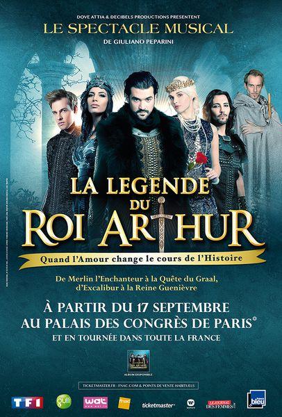 La Légende du Roi Arthur : l'événement musical de cette rentrée 2015 !