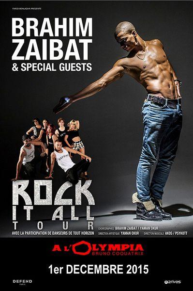 Retrouvez Brahim Zaibat à l'Olympia pour une date exceptionnelle !