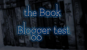 TAG : The Book Blogger Test