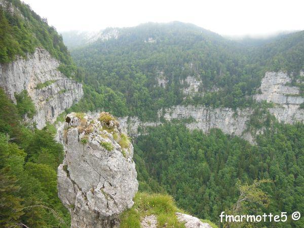 La Grande Sure, Chartreuse, par la Cheminée Ouest.