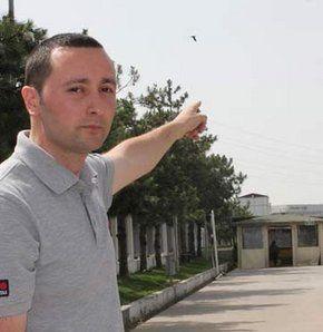 Ovni pris en photo à Gebze en Turquie