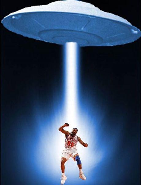 L'ex joueur de Basket-Ball Baron Davis a été récemment enlevé par des Extraterrestres