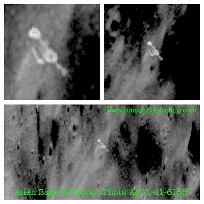 Apollo 11 a pris en photo cette possible Base Alien au cratère Daedalus sur la lune