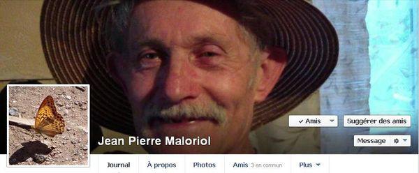 Jean-Pierre Maloriol filme des ovnis à Ferrussac en Haute-Loire