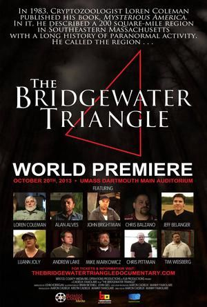 Le documentaire Le Triangle de Bridgewater sur les ovnis et le paranormal sort le 20 octobre 2013