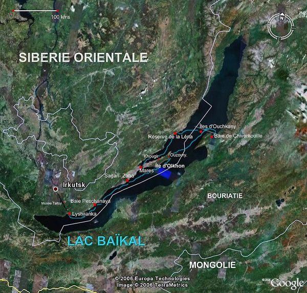 Ovnis au Lac Baïkal en Sibérie Russie