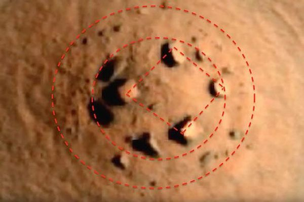 On aurait un possible Stonehenge sur Mars