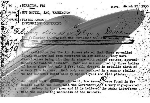 Ce document ovni du FBI