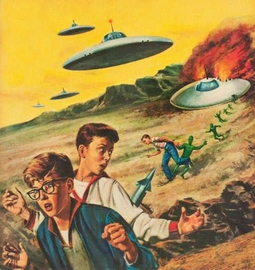 L'affaire ovni avec extraterrestre des élèves de Broad Haven au Pays de Galles