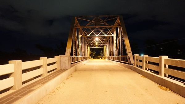 Photo du pont hanté de San Angelo au Texas