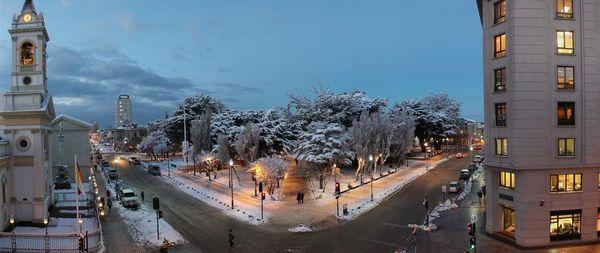 Photo : une vue de Punta Arenas