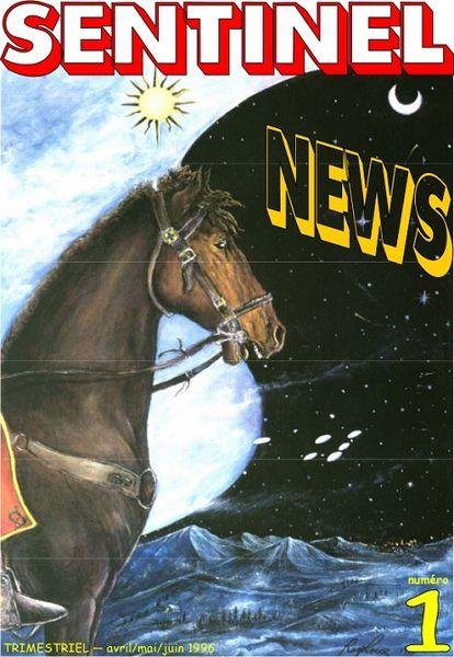L'ancienne revue sur les ovnis Sentinel News éditée par le Groupe Sentinelle