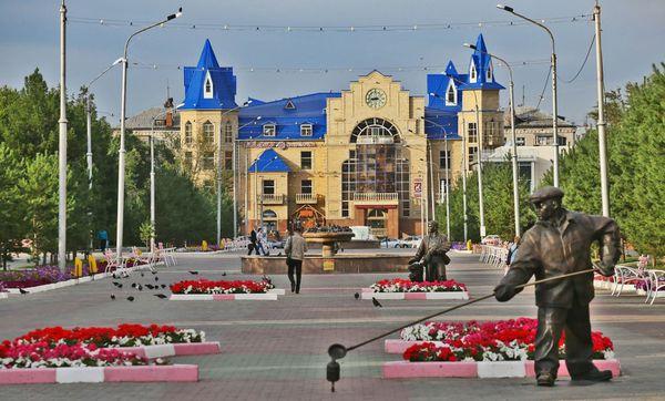 Photo : ici, une vue de Kostanay