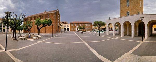 Photo : une vue de Pomezia, en Italie
