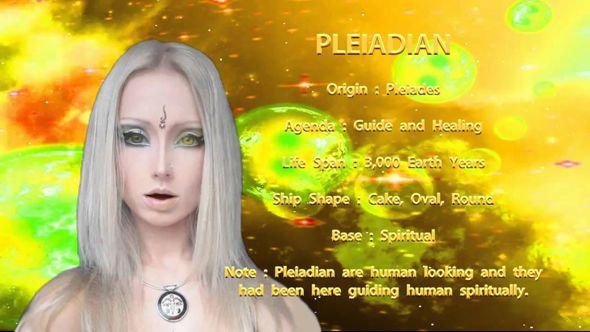 Image : elle vient des Pléades...