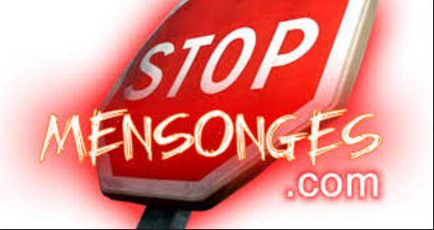 Le journal Le Parisien évoque le site Stop Mensonges