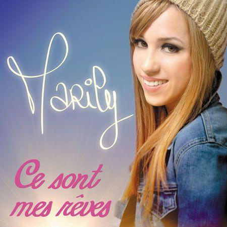 """Photo :  Marily et son superbe album """"Ce sont mes rêves""""..."""