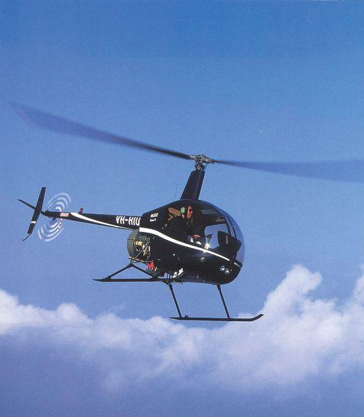 Photo : un hélicoptère Sloane...