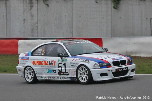 Essai course : BMW 325i Clubsport Trophy Valentino